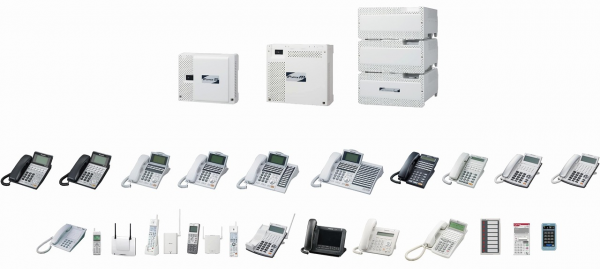 Panasonic_IP OFFICEⅡ_電話機