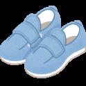 高齢者にとって歩きやすい介護靴。リハビリシューズ【ダブルマジックⅡ】