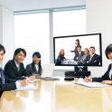「Skype」「ハングアウト」の音質・画質に満足できない方に朗報!!ビジネス用フルHDテレビ会議システム
