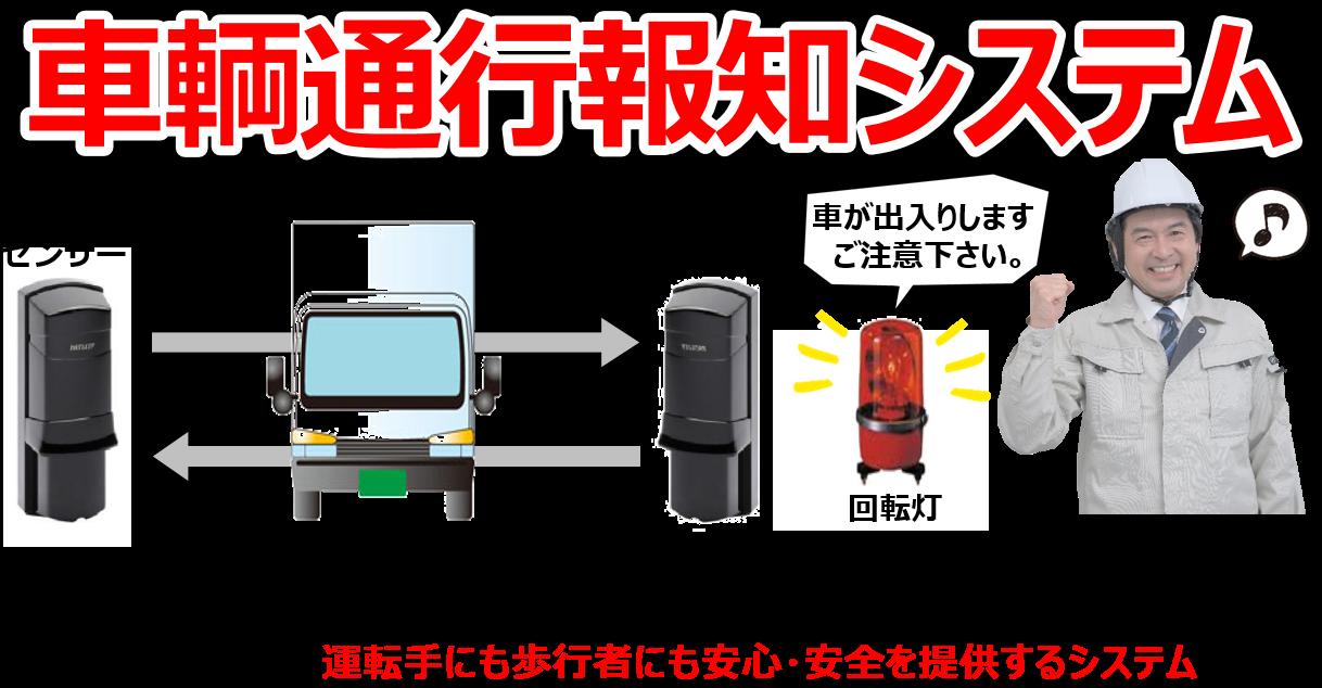 車輌通行システム