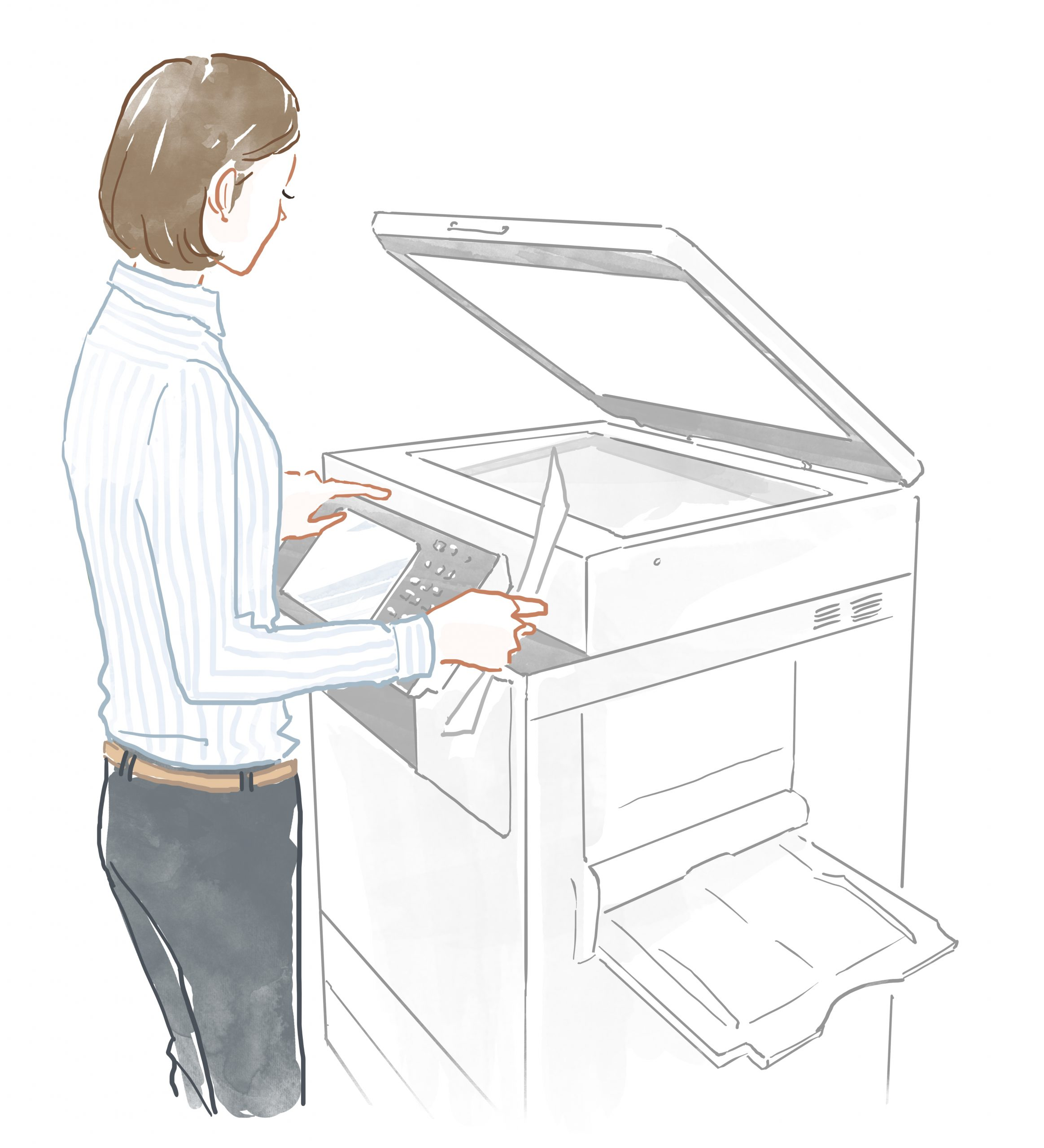 コピー機_検針